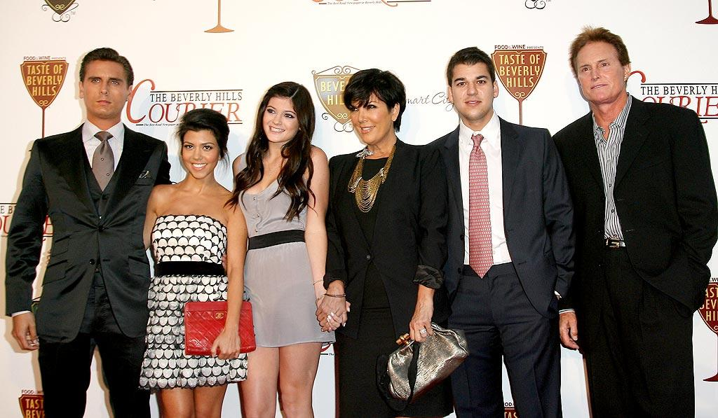 """The gang from """"Keeping Up With the Kardashians"""" were on hand to accept the keys to the city at the at the opening night of the Taste Of Beverly Hills Wine & Food Festival, which just happened to fall on the auspicious day of 9/02/10. Valerie Macon/<a href=""""http://www.gettyimages.com/"""" target=""""new"""">GettyImages.com</a> - September 2, 2010"""