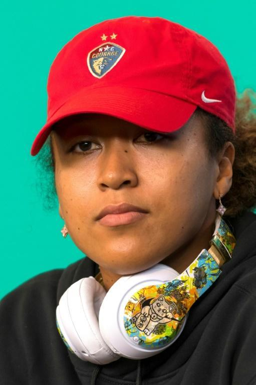 Speaking out: Naomi Osaka in Melbourne