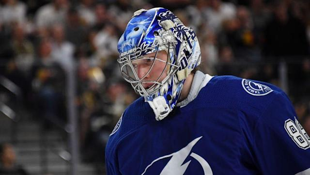 Andrei Vasilevskiy is probably the most conventional Vezina Trophy candidate. (NBC)