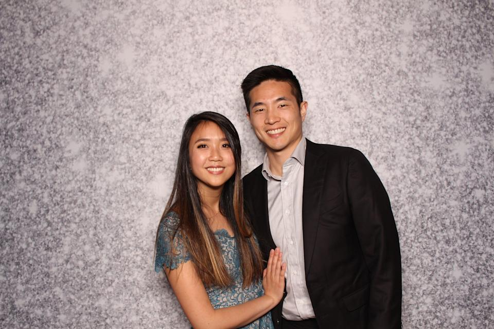 Patrick Yang and Janie Gu recently bought a townhouse built by Veev in San Carlos, California.