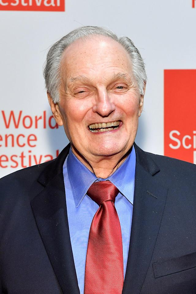 Alan Alda says he's learning to live with Parkinson's disease. (Photo: Getty Images)
