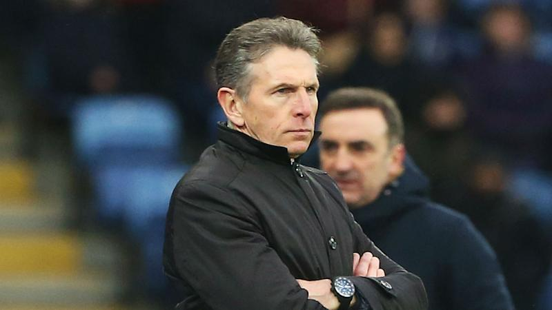 Under-fire Leicester boss Puel calls for perspective