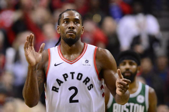 Kawhi Leonard has been everything the Raptors had hoped for. (AP)