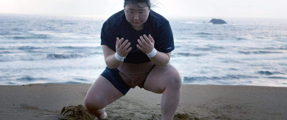 """<p>Hiyori Kon is banned from participating in sumo wrestling because women are not allowed to competitively participate in Japan, but this isn't going to stop her from striving for excellence in the sport. In this documentary short, the 20-year-old wrestler defies obstacles in and out of the ring to assert her presence. </p> <p>Watch <a href=""""http://www.netflix.com/title/81110394"""" class=""""link rapid-noclick-resp"""" rel=""""nofollow noopener"""" target=""""_blank"""" data-ylk=""""slk:Little Miss Sumo""""><strong>Little Miss Sumo</strong></a> on Netflix now.</p>"""