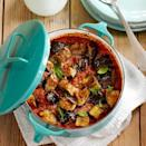 """<p>Quinoa is a protein-rich seed with a fluffy texture and a lovely nutty flavour</p><p><strong>Recipe: <a href=""""https://www.goodhousekeeping.com/uk/food/recipes/a535233/aubergine-tomato-tray-bake-recipe/"""" rel=""""nofollow noopener"""" target=""""_blank"""" data-ylk=""""slk:Aubergine and Tomato Bake"""" class=""""link rapid-noclick-resp"""">Aubergine and Tomato Bake</a></strong></p>"""