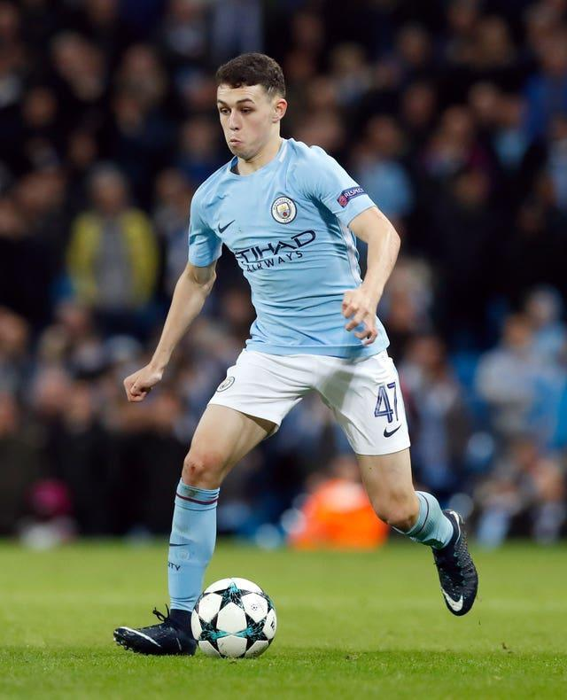 Foden was given his City debut by Guardiola in 2017