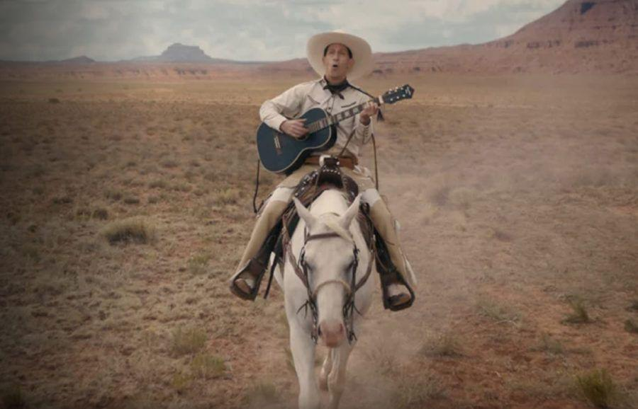 "<p>Ethan and Joel Coen bring their signature oddball filmmaking style to Netflix with <em>The Ballad of Buster Scruggs</em>. This movies features six vignettes of characters in the Wild West played by Liam Neeson, James Franco, Zoe Kazan, and Stephen Root.</p><p><a class=""link rapid-noclick-resp"" href=""https://www.netflix.com/search?q=ballad+of+&jbv=80200267&jbp=0&jbr=0"" rel=""nofollow noopener"" target=""_blank"" data-ylk=""slk:STREAM NOW"">STREAM NOW</a></p>"