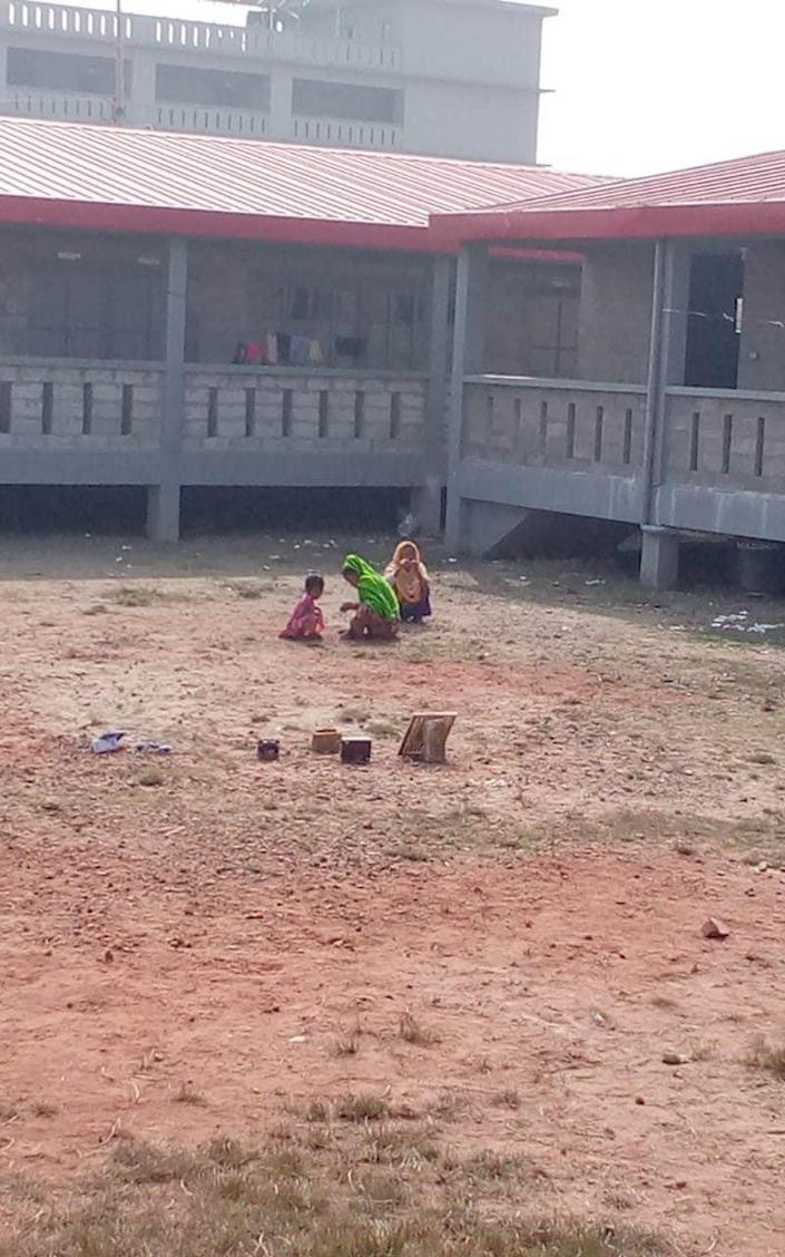 Schools have not yet opened for Rohingya children on Bhasan Char