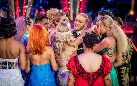 Jonnie Peacock was voted off after tonight's dance off, after the judges opted to save Debbie McGee