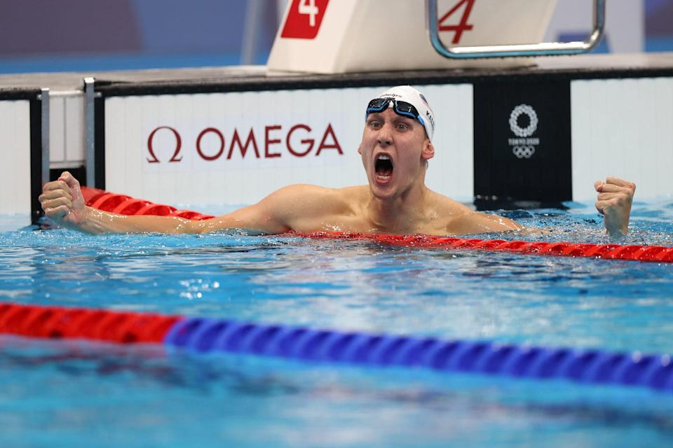"""<p>Biography: 27-year-old from Maryland; silver medalist in the 2016 Games</p> <p>Event: Men's 400m individual medley (swimming)</p> <p>Quote: """"It is my lifelong dream. It is what everyone dreams of in the sport. I do feel like I let the U.S. down in 2016, even though I swam faster here. The U.S. has a proud legacy in the 400m individual medley. This was my redemption story.""""</p>"""