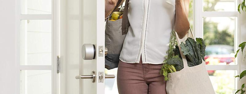 Keep your home safe with the August Smart Lock Pro. (Photo: Amazon)