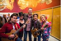 "<p>To honor some of the very best country artists out there (and to promote NBC's <em>The Voice</em>), the <em>Today</em> crew went for it with cowboy hats, guitars, fake mustaches, and more. Hoda was Blake Shelton (<a href=""https://www.today.com/popculture/jay-leno-grills-hoda-about-dating-her-crush-blake-shelton-2D11635170"" rel=""nofollow noopener"" target=""_blank"" data-ylk=""slk:her crush"" class=""link rapid-noclick-resp"">her crush</a>), while <a href=""https://www.goodhousekeeping.com/life/entertainment/a27033406/kathie-lee-gifford-last-day-today-show-hoda-kotb/"" rel=""nofollow noopener"" target=""_blank"" data-ylk=""slk:Kathie Lee Gifford"" class=""link rapid-noclick-resp"">Kathie Lee Gifford</a> went as Miley Cyrus. </p>"