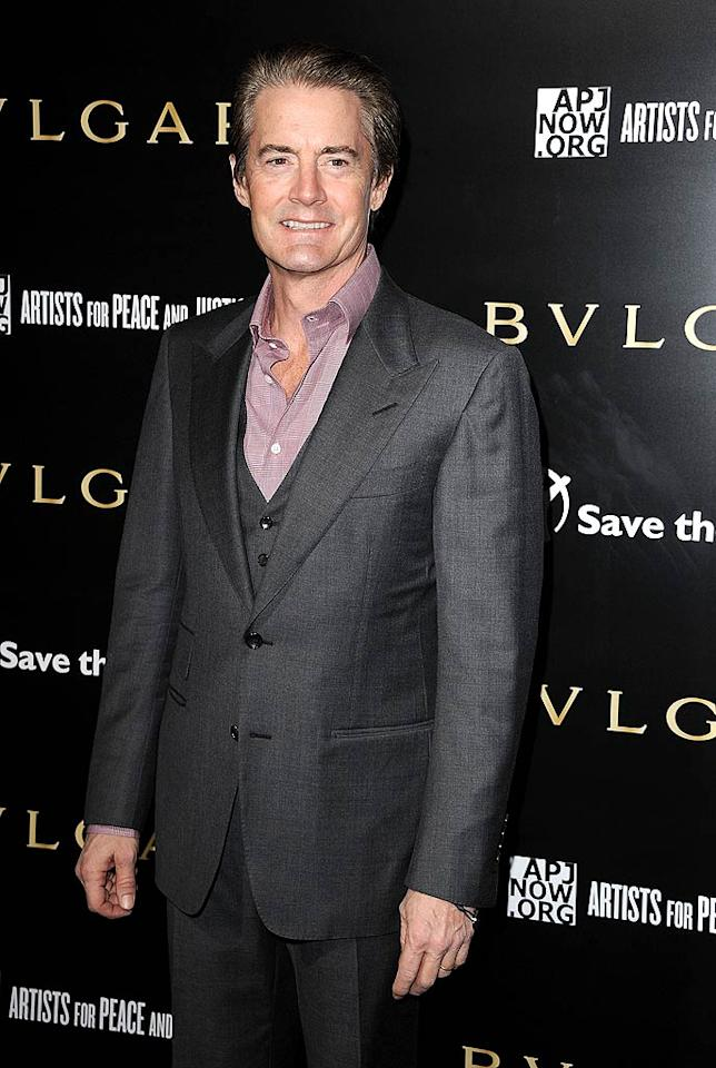 """February 22: Kyle McLachlan turns 52 Steve Granitz/<a href=""""http://www.wireimage.com"""" target=""""new"""">WireImage.com</a> - January 13, 2011"""