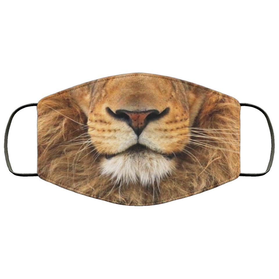 "<p>This <product href=""https://www.etsy.com/listing/823154023/lion-face-mask-unisex-3-layer-maskadult?ga_order=most_relevant&amp;ga_search_type=all&amp;ga_view_type=gallery&amp;ga_search_query=animal+face+face+mask+adult&amp;ref=sr_gallery-2-12&amp;organic_search_click=1&amp;pro=1"" target=""_blank"" class=""ga-track"" data-ga-category=""internal click"" data-ga-label=""https://www.etsy.com/listing/823154023/lion-face-mask-unisex-3-layer-maskadult?ga_order=most_relevant&amp;ga_search_type=all&amp;ga_view_type=gallery&amp;ga_search_query=animal+face+face+mask+adult&amp;ref=sr_gallery-2-12&amp;organic_search_click=1&amp;pro=1"" data-ga-action=""body text link"">Lion 3-Layer Face Mask</product> ($15) features three layers of protection.</p>"