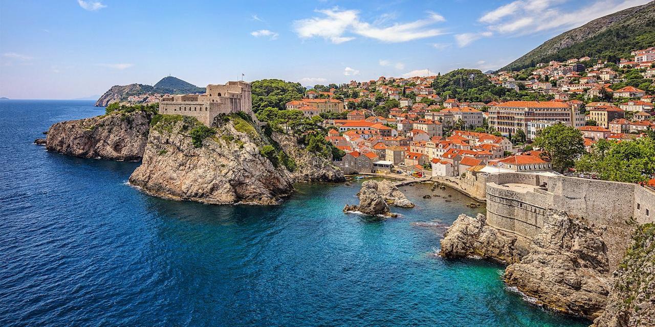 """<p>This stunningly beautiful walled city on the Adriatic Sea has medieval roots, so it's little wonder it doubled as <a href=""""https://www.tripadvisor.com/Attraction_Review-g295371-d9762001-Reviews-Game_of_Thrones_Dubrovnik_Tours-Dubrovnik_Dubrovnik_Neretva_County_Dalmatia.html"""" target=""""_blank"""">King's Landing</a> in <em>Game of Thrones</em>. Wander its cobbled streets, explore historic monasteries and Renaissance churches, dine in outdoor cafes, and kick back on beaches like Banje, just outside the town walls.</p>"""