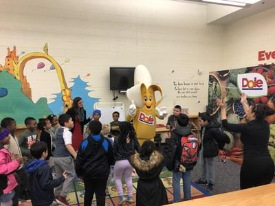 Dole Food Company and Action for Healthy Kids today launched a free, interactive Healthy Eating Toolkit designed to build healthier schools and students across America. Dole's Bobby Banana led fun exercises for students at Stoney Creek Elementary School in Charlotte, North Carolina.