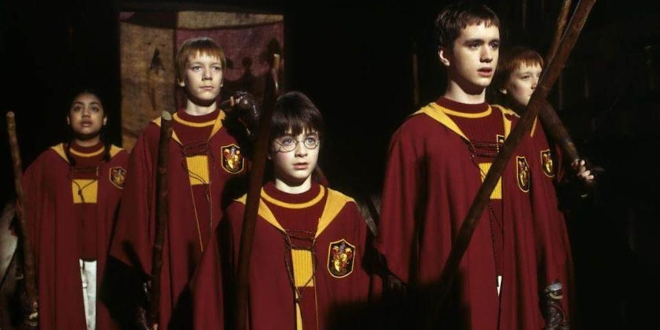 Daniel Radcliffe in his first outing as Potter (Warner Bros.)
