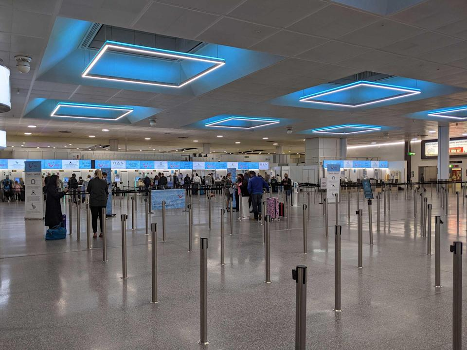 Gatwick Airport at 4am (Cathy Adams)