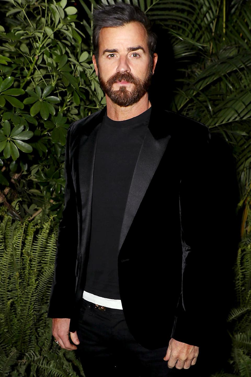 <p> Justin Theroux stepped out for AppleTV's special drive-in screening of his new drama series <em>The Mosquito Coast</em> in New York.</p>