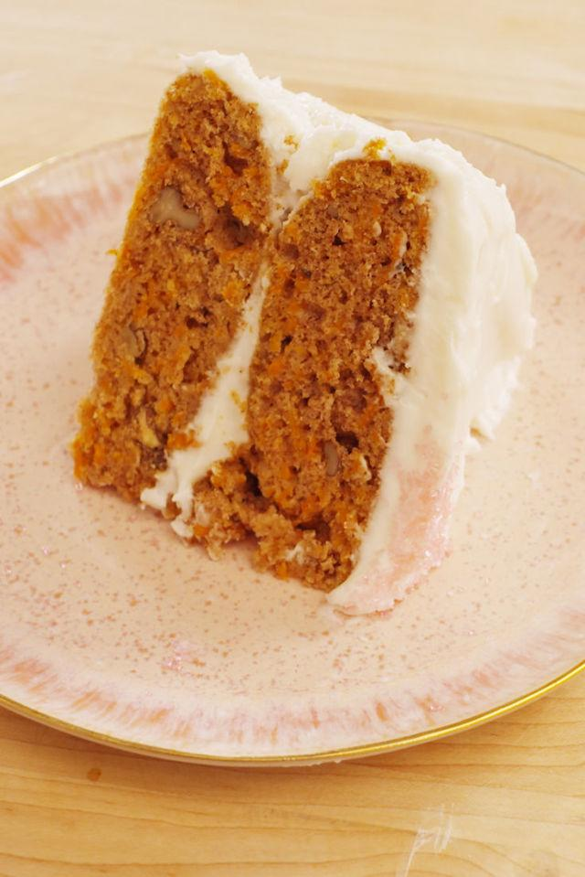 "<p>Candace Cameron Bure tried her hand at making her ultimate birthday dessert - carrot cake - using one of our favorite recipes.</p><p>Get the recipe from <a rel=""nofollow"" href=""http://www.delish.com/cooking/recipe-ideas/recipes/a53004/carrot-cake-vegan-frosting-recipe/"">Delish</a>.</p>"