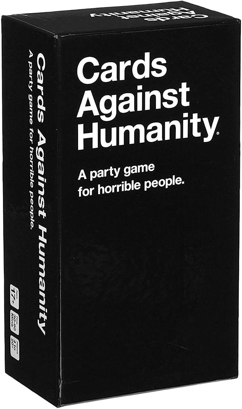 "It's crass. It's funny. It's ... perfect. (Warning: you might want to reserve this for older teens. It can get pretty inappropriate.) Get it for $35.00 at <a href=""https://www.chapters.indigo.ca/en-ca/house-and-home/cards-against-humanity-2-0/754207313585-item.html"" target=""_blank"" rel=""noopener noreferrer"">Indigo</a>."