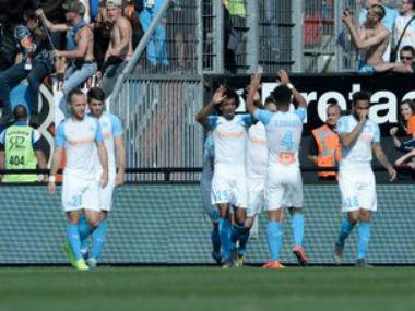 Ligue 1: Marseille keep hopes of qualifying for next season's Champions League alive with victory over Guingamp