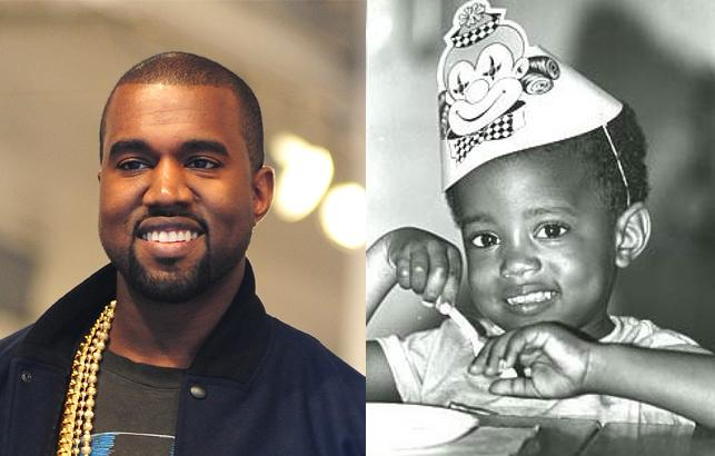 Kanye West Baby Photo