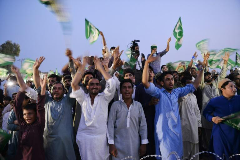 Pakistani political rallies have been transformed in recent years to festive blowouts, designed to entertain as much as inspire supporters to vote