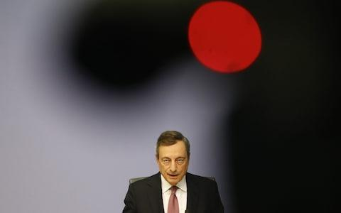 Mario Draghi - Credit: Alex Kraus/Bloomberg