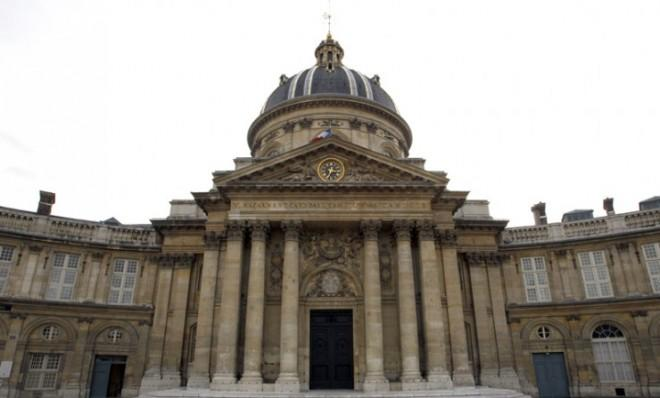 "The Institute de France, home to the Academie Francaise, which has problems with the word ""hashtag."""