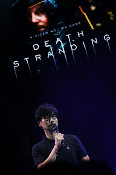 "In Hideo Kojima's new video game ""Death Stranding"" he uses bridges ""to represent connection -- there are options to use them or break them. It's about making people think about the meaning of connection"""