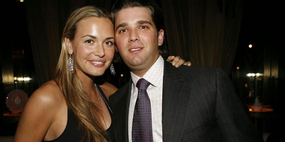 The former model filed for divorce from Donald Trump Jr. (Photo: Getty)