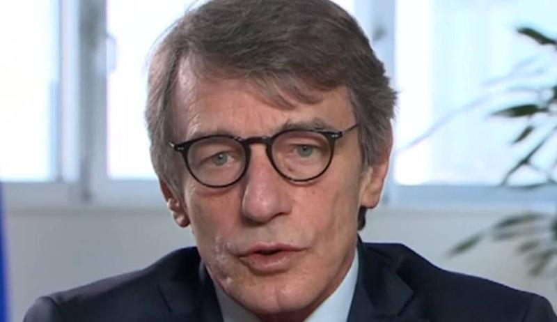 El presidente del Parlamento Europeo, David Sassoli. (Photo: RTVE)