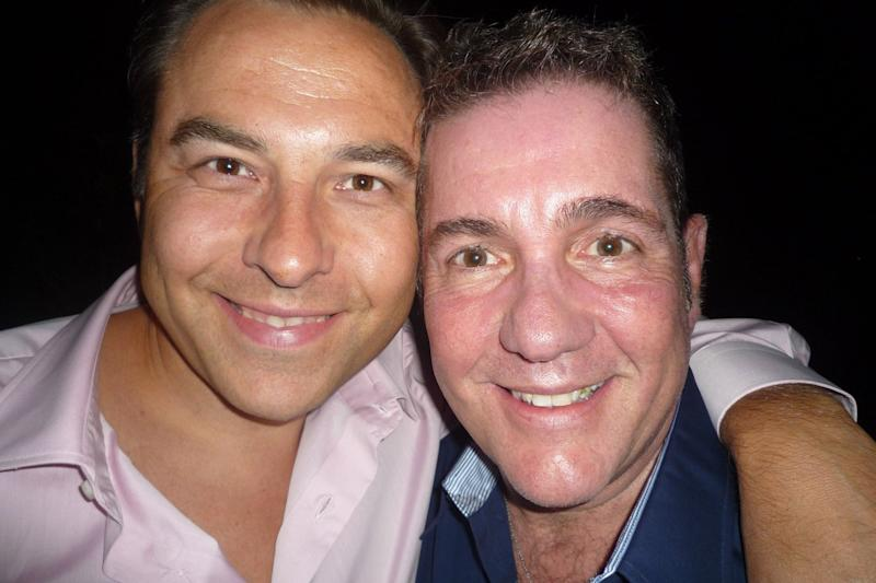Heartbroken: David Walliams paid tribute to his late friend Dale Winton, who has died aged 62: Twitter / David Walliams