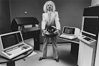 """<p>The 1970s saw a surge of technology that was designed for the work space. <a href=""""https://www.ibm.com/ibm/history/history/decade_1970.html"""" rel=""""nofollow noopener"""" target=""""_blank"""" data-ylk=""""slk:Companies like IBM"""" class=""""link rapid-noclick-resp"""">Companies like IBM</a> and Honeywell began developing tools that would simplify tasks for workers.</p>"""