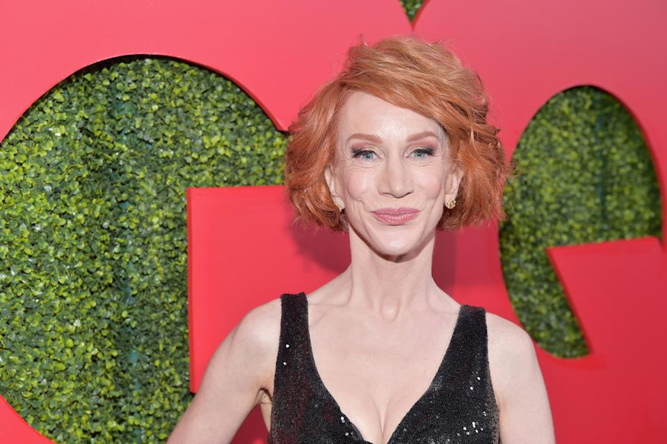 BEVERLY HILLS, CA - DECEMBER 06:  Kathy Griffin attends the 2018 GQ Men of the Year Party at a private residence on December 6, 2018 in Beverly Hills, California.  (Photo by Stefanie Keenan/Getty Images for GQ)