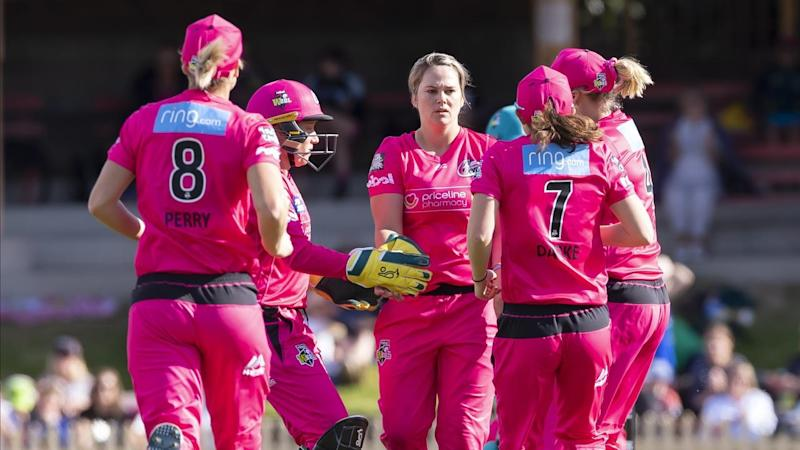CRICKET WBBL SIXERS HEAT
