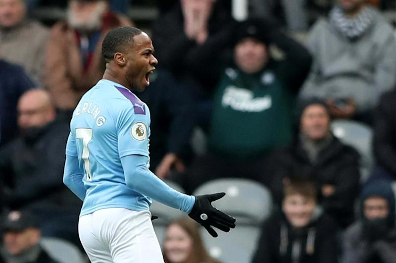 Manchester City and England star Raheem Sterling has been nominated for the award Photo: Reuters