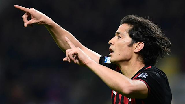 Mati Fernandez netted the only goal of the game to help AC Milan to a deserved win over Genoa at San Siro on Saturday.