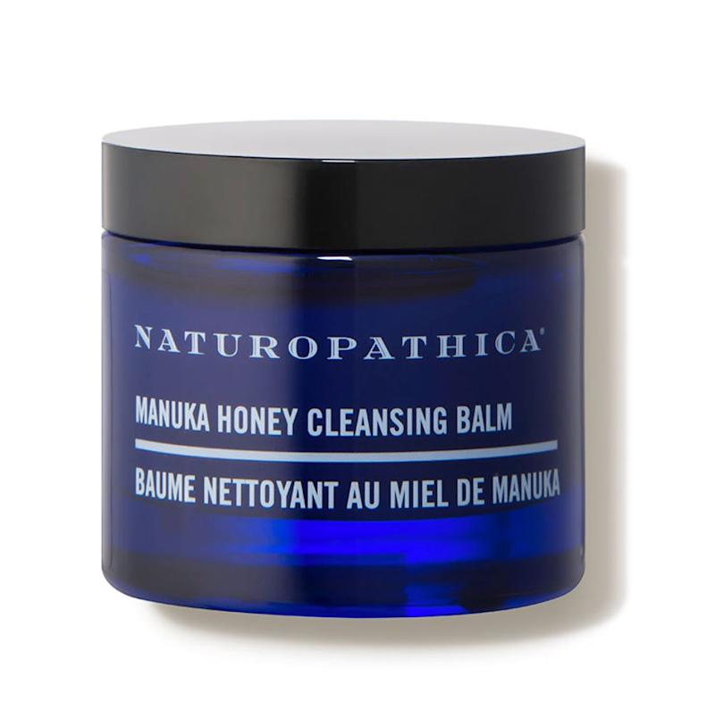 """If you&rsquo;re more on the sensitive side, stick to the <a href=""https://fave.co/2X9mcwo"" target=""_blank"" rel=""noopener noreferrer"">Naturopathica Manuka Honey Cleansing Balm</a>."" &mdash;<strong> Serron at Heyday</strong>. <a href=""https://fave.co/2X9mcwo"" target=""_blank"" rel=""noopener noreferrer"">Find it for $62 at Dermstore</a>."