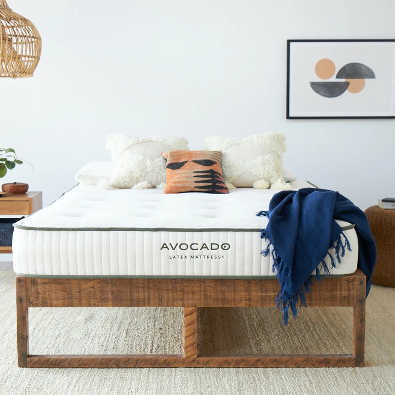 "<h2>Avocado Mattress<br></h2><br>The Latex Mattress is Avocado's most sustainable mattress to date. Nine inches of organic latex replace mattress springs and, ""delivers ideal comfort,"" to customers. <br><br>(P.S. <strong>save $200</strong> on Avocado mattresses right now with the promo code <strong>EARTH</strong>)<br><br><em>Shop</em> <strong><em><a href=""http://avocadogreenmattress.com"" rel=""nofollow noopener"" target=""_blank"" data-ylk=""slk:Avocado Green Mattress"" class=""link rapid-noclick-resp"">Avocado Green Mattress</a></em></strong><br><br><strong>Avocado Mattress</strong> Latex Mattress (Queen), $, available at <a href=""https://go.skimresources.com/?id=30283X879131&url=https%3A%2F%2Fwww.avocadogreenmattress.com%2Fcollections%2Fmattresses%2Fproducts%2Forganic-latex-foam-mattress"" rel=""nofollow noopener"" target=""_blank"" data-ylk=""slk:Avocado Mattress"" class=""link rapid-noclick-resp"">Avocado Mattress</a>"