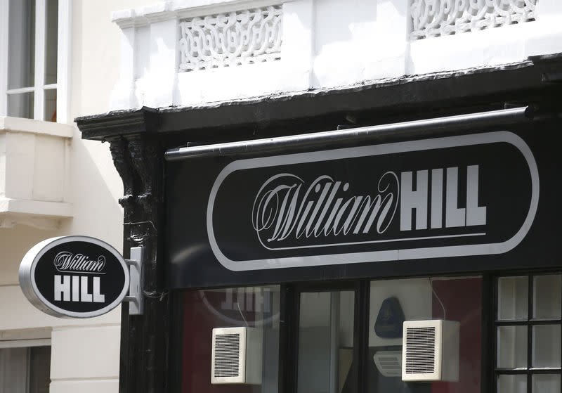 FILE PHOTO: File photo of a William Hill bookmaker store in London