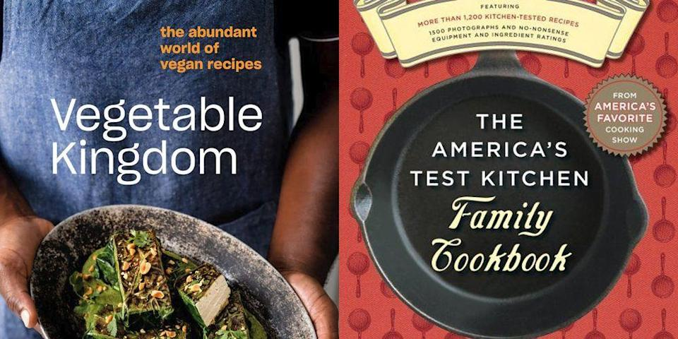 """<p>The words """"healthy eating"""" have become so buzzy that they've almost lost their meaning. To get it back, we reached out to a handful of nutritionists and dietitians with one simple question: What cookbooks do <em>you</em> turn to for healthful, balanced recipes? Below, you'll find their recommendations (plus some of our personal Delish favorites!). Whether you're looking to eat more veggies, cut down on processed foods, or try a vegan lifestyle, these books will help—in the most delicious way possible. </p><p>Shopping for more cookbooks? We can help. Shop our editor-approved round-ups including <a href=""""https://www.delish.com/kitchen-tools/cookbooks/g29698348/best-cookbooks-2020/"""" rel=""""nofollow noopener"""" target=""""_blank"""" data-ylk=""""slk:the best cookbooks of 2020"""" class=""""link rapid-noclick-resp"""">the best cookbooks of 2020</a>, <a href=""""https://www.delish.com/kitchen-tools/cookbooks/g33444255/cookbooks-by-black-authors/"""" rel=""""nofollow noopener"""" target=""""_blank"""" data-ylk=""""slk:the best cookbooks by black authors"""" class=""""link rapid-noclick-resp"""">the best cookbooks by black authors</a>, <a href=""""https://www.delish.com/kitchen-tools/cookbooks/g24436759/best-vegetarian-cookbooks/"""" rel=""""nofollow noopener"""" target=""""_blank"""" data-ylk=""""slk:the best vegetarian cookbooks"""" class=""""link rapid-noclick-resp"""">the best vegetarian cookbooks</a>, <a href=""""https://www.delish.com/kitchen-tools/cookbooks/g33444190/best-korean-cookbooks/"""" rel=""""nofollow noopener"""" target=""""_blank"""" data-ylk=""""slk:the best Korean cookbooks"""" class=""""link rapid-noclick-resp"""">the best Korean cookbooks</a>, <a href=""""https://www.delish.com/kitchen-tools/cookbooks/g33369817/best-mexican-cookbooks/"""" rel=""""nofollow noopener"""" target=""""_blank"""" data-ylk=""""slk:the best Mexican cookbooks"""" class=""""link rapid-noclick-resp"""">the best Mexican cookbooks</a>, and <a href=""""https://www.delish.com/kitchen-tools/cookbooks/g24444157/best-kids-cookbooks/"""" rel=""""nofollow noopener"""" target=""""_blank"""" data-ylk=""""slk:the best cookbooks for kids"""" class=""""link"""