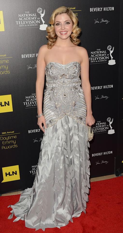 Jen Lilley arrives at The 39th Annual Daytime Emmy Awards held at The Beverly Hilton Hotel on June 23, 2012 in Beverly Hills, California.