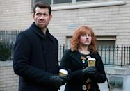 """<p><b>What's Coming Up:</b> """"I wonder what we're going to complain about now?"""" Billy (Billy Eichner) asked his partner-in-kvetching Julie (Julie Klausner) at the end of the Hulu comedy's first season finale. According to creator/star Klausner, the answer is: Plenty! Whether it's a personal trainer (Joel McHale) who is physically fit but mentally out of shape, or a Jewish networking group that may hold the keys to a lucrative TV gig, our difficult heroes are facing a number of difficult situations. """"These are people who, no matter the situation, will always complain,"""" Klausner says.<br><br><b>It's a Helluva Town:</b> New York is a character in <i>Difficult People</i>, one that is a constant source of bedevilment and befuddlement for Julie and Billy. """"Our New York is very different from <i>Broad City</i>'s New York or <i>Unbreakable Kimmy Schmidt</i>'s New York,"""" Klausner explains. """"Our New York is very much in line with the outlook of our two characters; it's really hard, nothing is fair, things are dirty and stupid and the people who are rich shouldn't be."""" Perhaps one day all three of these New Yorks will collide in a crossover episode? """"If anybody writes that, make my character very erotic,"""" says Klausner with a laugh. """"That's all I ask."""" <i>— Ethan Alter</i><br><br><i>(Credit: Hulu)</i> </p>"""