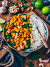 "<p>Get the <a href=""https://biancazapatka.com/en/pumpkin-chickpea-curry/"" rel=""nofollow noopener"" target=""_blank"" data-ylk=""slk:Pumpkin Chickpea Curry"" class=""link rapid-noclick-resp"">Pumpkin Chickpea Curry</a> recipe.</p><p>Recipe from <a href=""https://biancazapatka.com/en/"" rel=""nofollow noopener"" target=""_blank"" data-ylk=""slk:Bianca Zapatka"" class=""link rapid-noclick-resp"">Bianca Zapatka</a>.<br></p>"