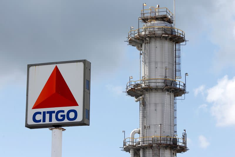 FILE PHOTO: A CITGO refinery is pictured in Sulphur