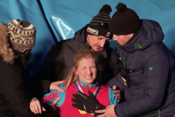 <p>Swimmer Rebecca Adlington dislocated a shoulder during a painful accident while taking part in the infamous 'air jump'. Viewers were treated to footage of her shoulder actually leaving it's socket before she was rushed to hospital and forced to pull out of the competition. </p>