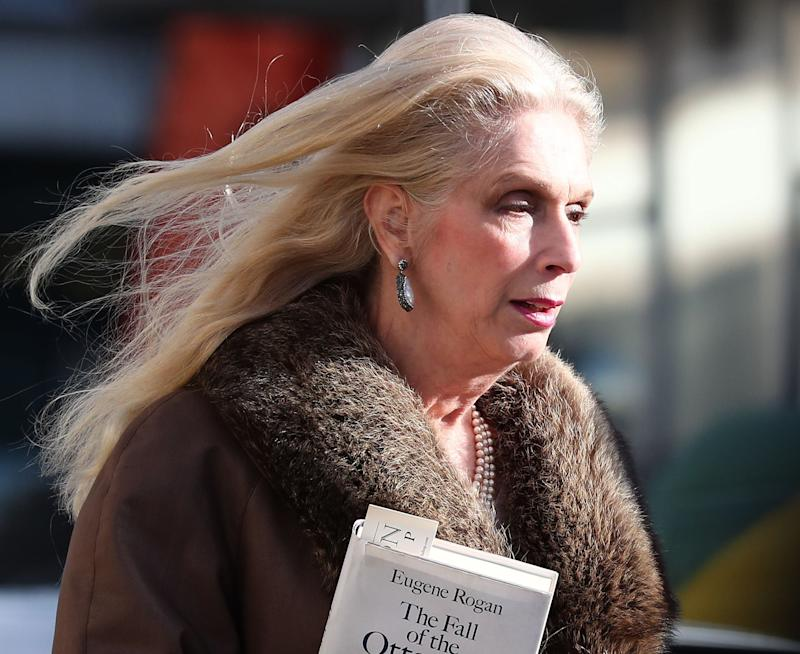 Lady Colin Campbell had been due to turn on the Christmas lights in Tetbury (Credit: PA)