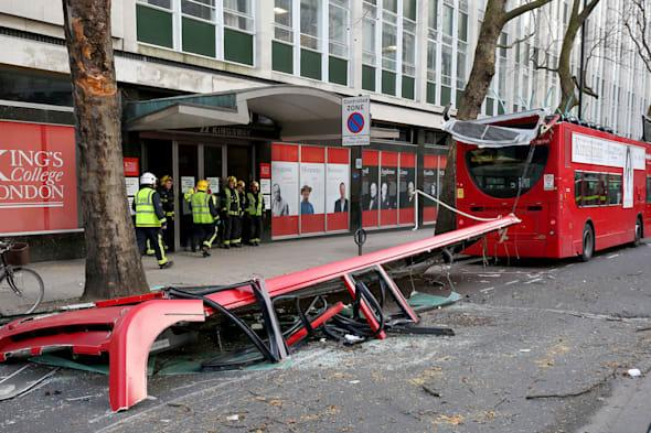Passenger tells of shock as roof ripped off bus